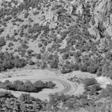 Hairpin Turn, Hwy 666, AZ 1991